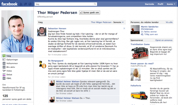 Thor M Pedersen Liberal Alliance Freedom Fighter