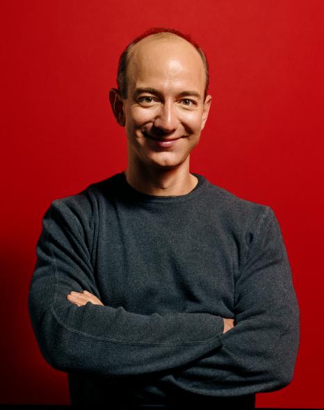 Amazons direktør, Jeff Bezos. Pressebillede.