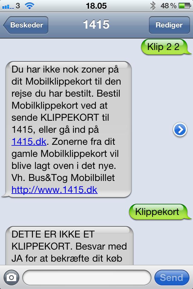 Sms Klippekort Holder 100 Iphone App Er Et Flop Jon Lund
