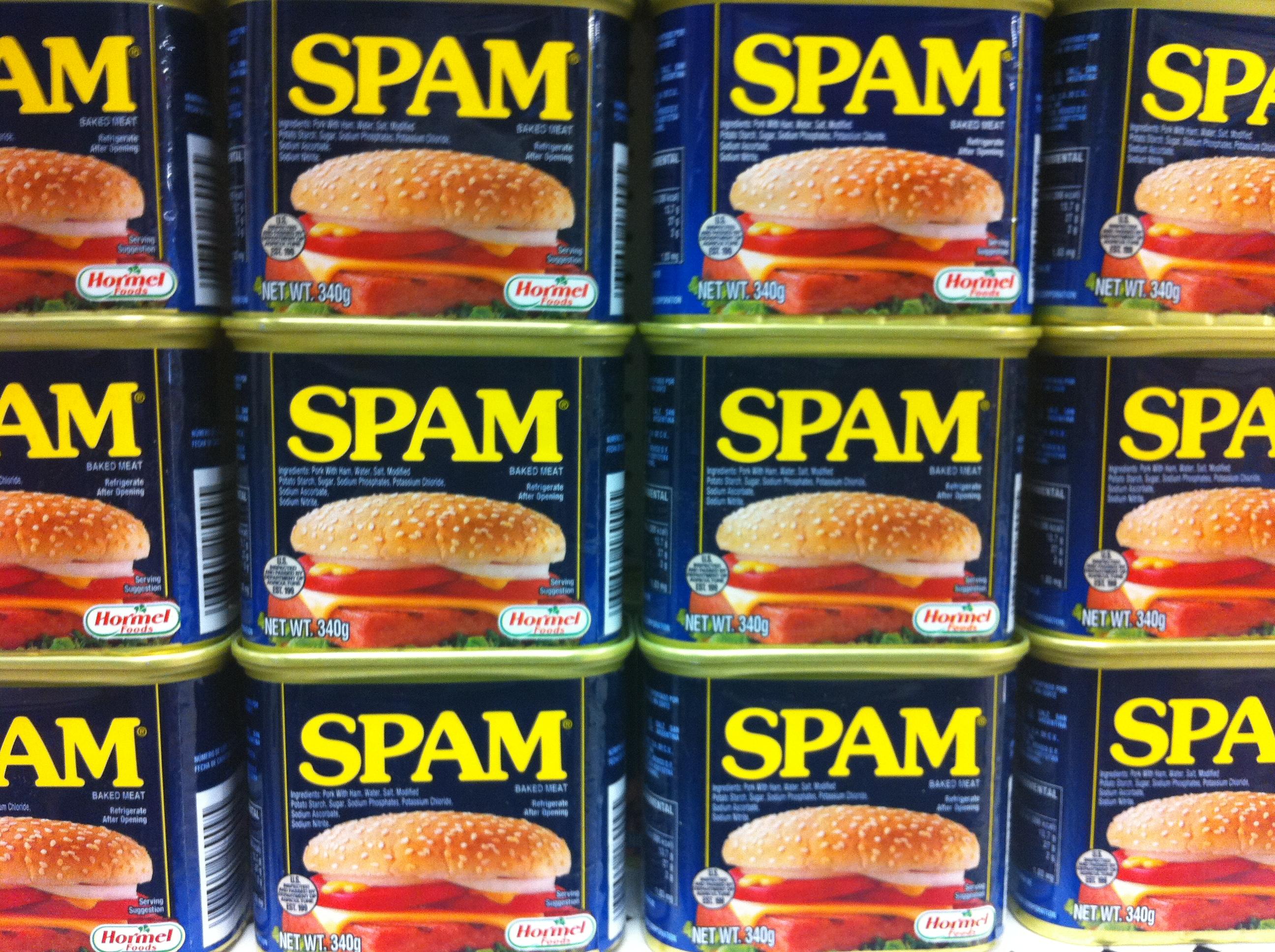 Spam-billede