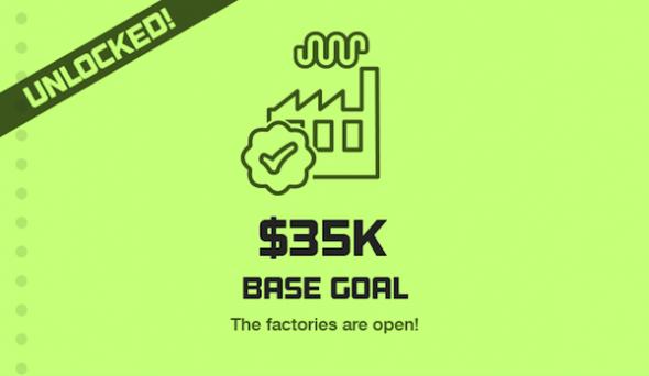 Thermodo Kickstarter base goal unlocked